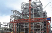 Steel Structure for Power Plant Industry