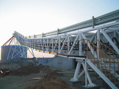 Steel Structure Corridor for Conveyor