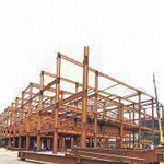 Steel Structure for Commercial Steel Building, with Commitment of Three Years Quality Assurance