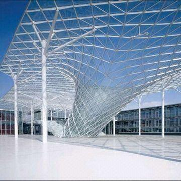 Commercial Steel Structure Building with Eco-friendly and Lower Cost Maintenance Feature