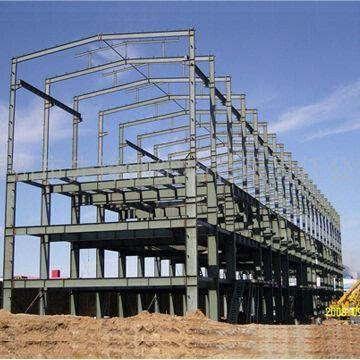 Steel Structure Building With High Strength And Large