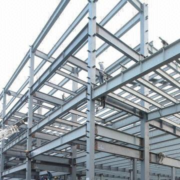 Steel Structure Building with Strong Seismic/Wind Resistance and Shorter Construction Cycle